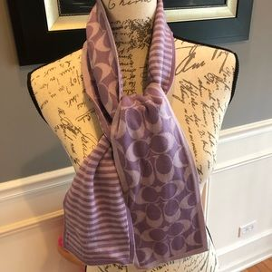 Coach scarf. With signature print